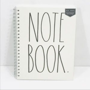 Rae Dunn Spiral Lined Notebook 160 Pages